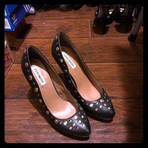 Black Stud heels.. Worn ONLY once!!